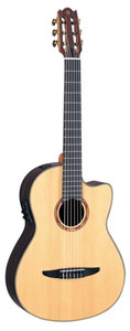 Yamaha NCX1200R Nylon String Acoustic-Electric Classical Cutaway [ncx1200r]