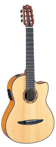 Yamaha NCX2000FM Nylon String Acoustic-Electric Classical Cutaway [ncx2000fm]