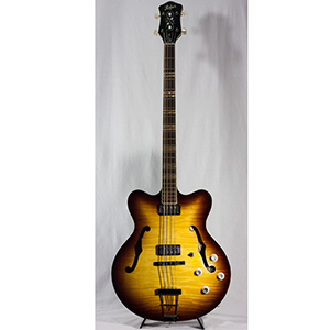 Hofner Contemporary Series Verythin Bass Guitar - Sunburst [HCT-500/7-SB-O]