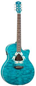 Luna Guitars Fauna Dragonfly [FAU DF QM]