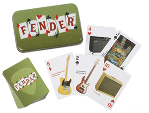 Fender Dual-Deck Playing Card Tin Set [0999526000]