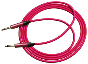 Horizon Pretty N Pink 18 ft. Neon Pink Guitar Cable