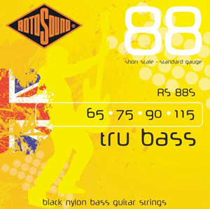 Rotosound RS88S Black Nylon