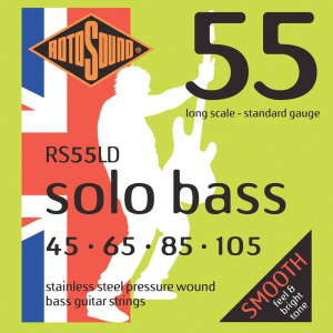 Rotosound RS55LD Linea Pressure Wound Bass Strings 45 65 85 105