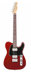Fender Blacktop Telecaster HH - Candy Apple Red - Rosewood