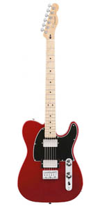 Blacktop Telecaster HH - Candy Apple Red - Maple