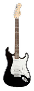 Standard Stratocaster HSS Black