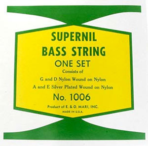 LaBella 1006 Supernil Nylon Wound Double Bass Strings [1006]