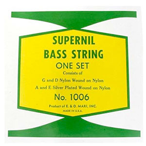 1006 Supernil Nylon Wound Double Bass Strings