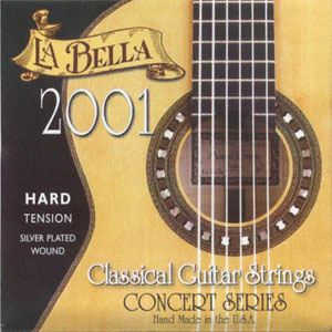 LaBella 2001 Hard Tension Classic Guitar Strings [2001hard]