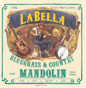 LaBella 770L - Mandolin Folk Strings [770L]