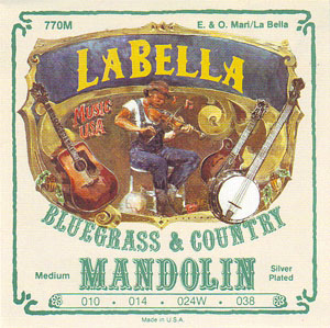 LaBella 770M Loop End Wound Mandolin Strings