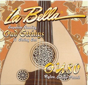 LaBella OU80 Oud String Set, Turkish [OU80]