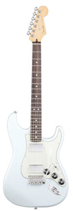 Blacktop Stratocaster HH - Sonic Blue