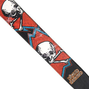 Lynyrd Skynyrd Collection Guitar Strap - Skull