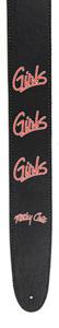 Motley Crue Collection Guitar Strap - Girls
