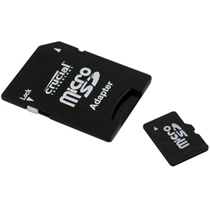 Crucial 4GB micro SDHC Flash Card