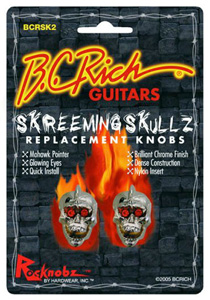 BC Rich Screeming Skulls Replacement Knobs - 2 Pack [BCRSK2]