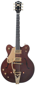 Gretsch G6122-1962LH Left-Handed Chet Atkins Country Gentleman - Walnut Stain [G6122-1962LH]