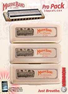Marine Band Harmonica Pro Pack