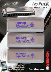 Hohner Special 20 Harmonica Pro Pack