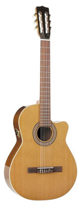 Concert CW Cutaway Acoustic-Electric Q1 Classical Guitar