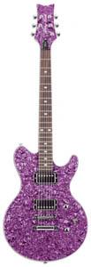 Daisy Rock Siren Series Vivacious Violet