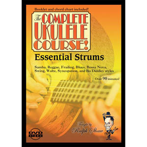 eMedia The Complete Ukulele Course Ralph Shaw's Essential Strums DVD [rs08105]