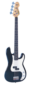 Vintage V4BK Icon V4 Bass Guitar - Black [V4BK]