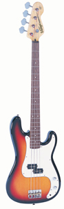 Vintage V4SB Icon V4 Bass Guitar - Sunburst [V4SB]
