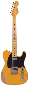 Vintage V52MRBS Icon Electric Guitar - Butterscotch [V52MRBS]