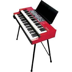 Nord Music Stand for the Stage 76 and Stage 88 Piano and C1 / C2 Combo Organ