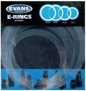 Evans E-Ring Fusion Pack, 4pc set [er-fusion]