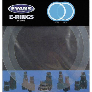 Evans E-Ring Snare Pack, 2pc set [er-snare]
