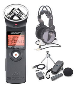 Zoom H1 Recording Bundle []