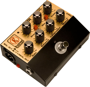 Eden World Tour Preamp Pedal