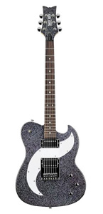 Tom Boy Deuce Electric Guitar - Rainbow Sparkle