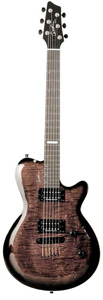 Godin Summit CT - Trans Black Flame
