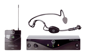 Akg WMS45 Perception Headset  System Band A