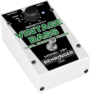 Behringer VB1 Vintage Bass Dynamic Filter