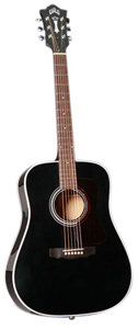 Guild D40 Richie Havens Signature - Black [3850115806]