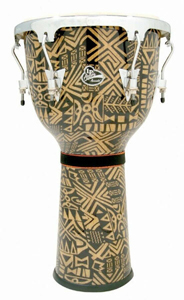 LP Aspire Accents Djembe - Serengeti/Chrome [LPA632-SGC]