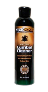 Music Nomad Acid Free Cymbal Cleaner - 8 oz.