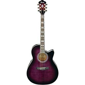 AEF30E - Transparent Violet Sunburst