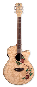 Luna Guitars Flora Rose [FLO RSE]