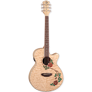 Luna Guitars Flora Rose