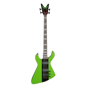 Dean Limited Edition Demonator - Green/Black with Case  [demonator 4 grbk]