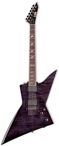 ESP LTD EX-401FM - See Through Black [LEX401FMSTBLK]