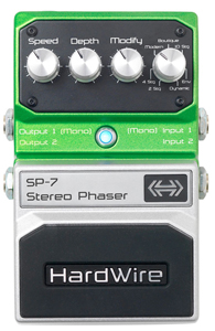 Digitech SP-7 HardWire Stereo Phaser [SP7]