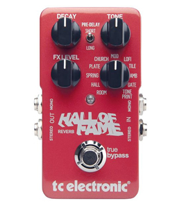 TC Electronic Hall of Fame Reverb Pedal [960660001]